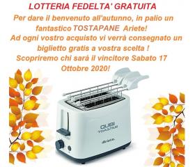 LOTTERIA FEDELTA' GRATUITA 12/10/2020